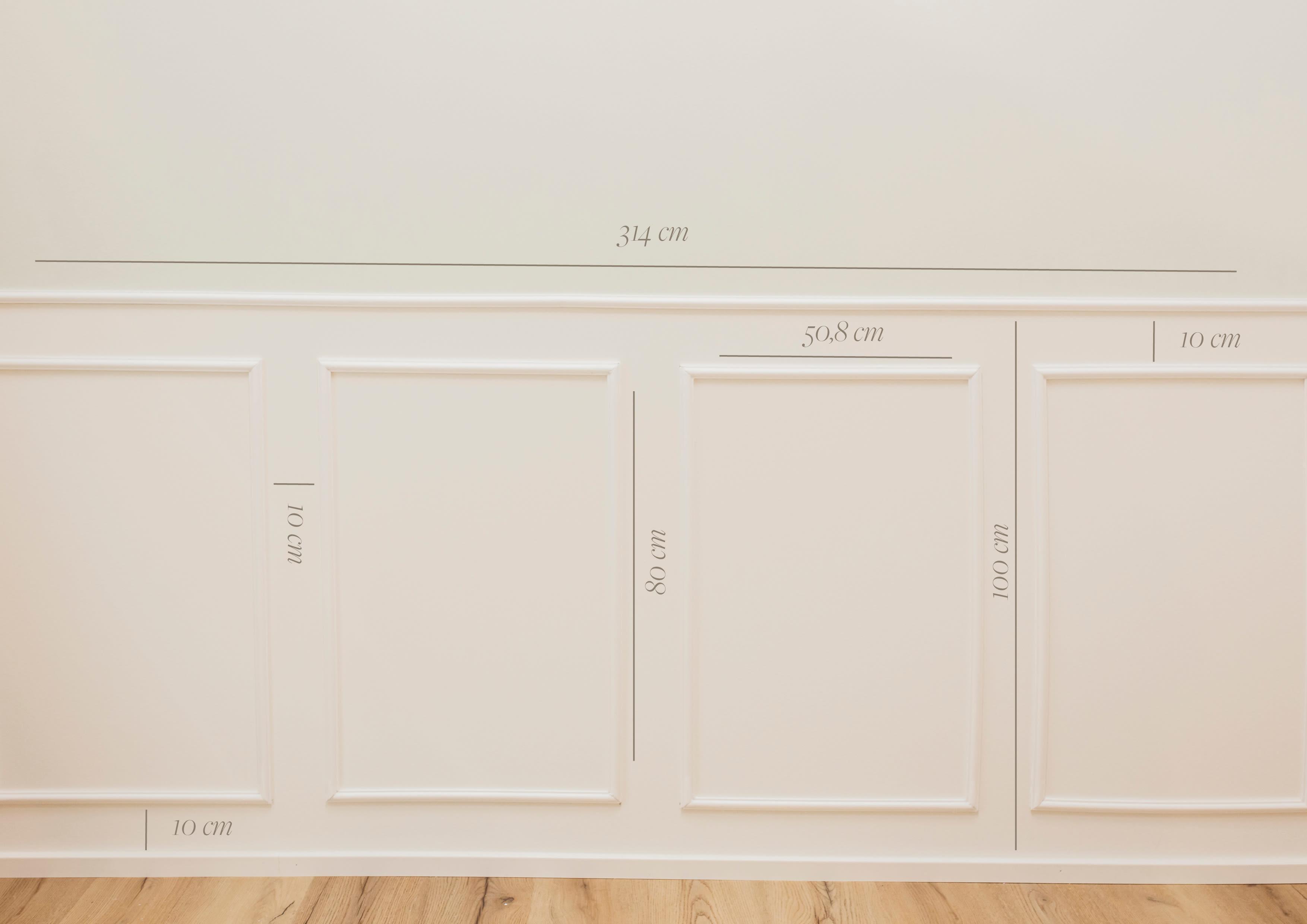 wall4all - Wandkassetten Maße Quer