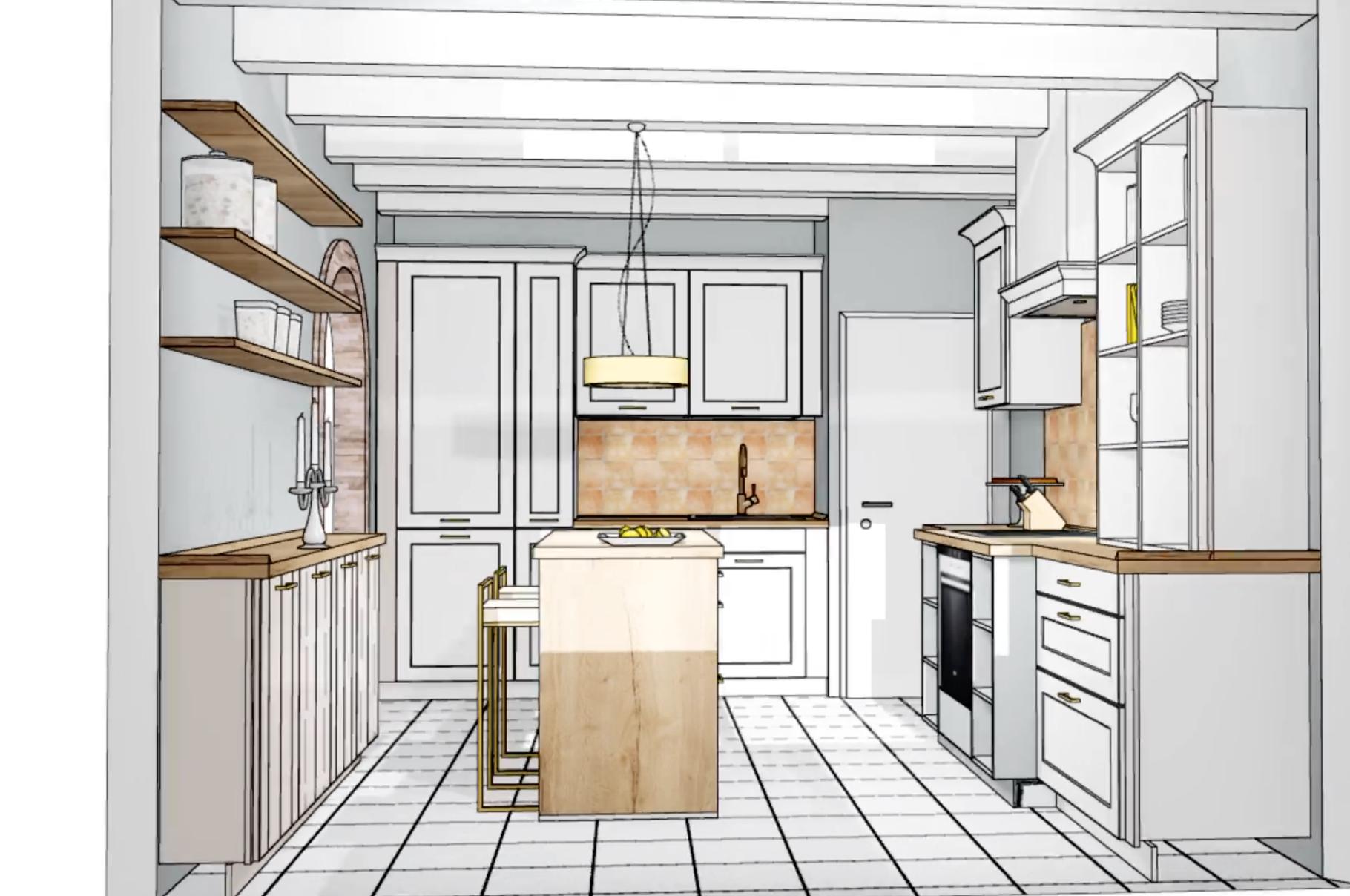 Küchen Makeover - Planung 2