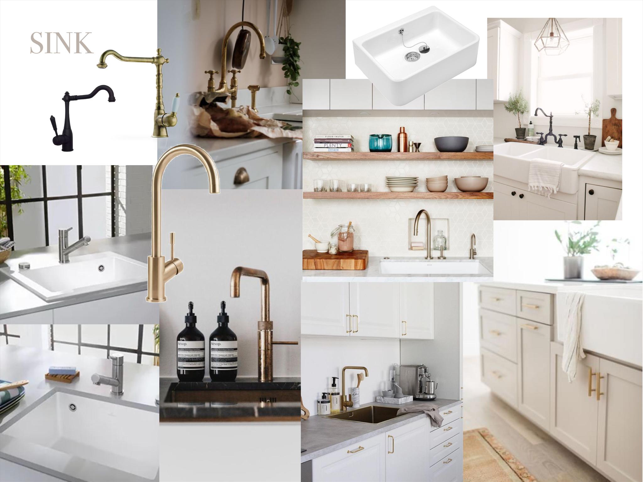 Küchen Makeover - Moodboard Sink