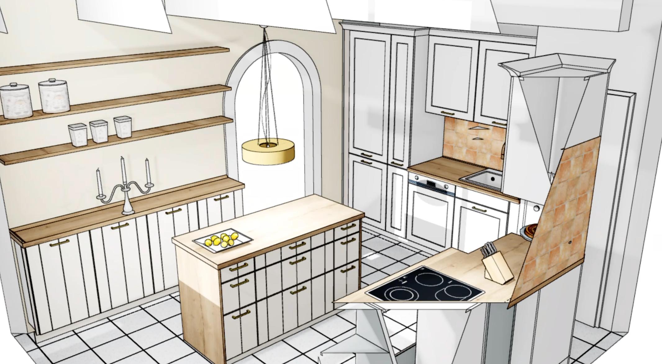 Küchen Makeover - Planung 6