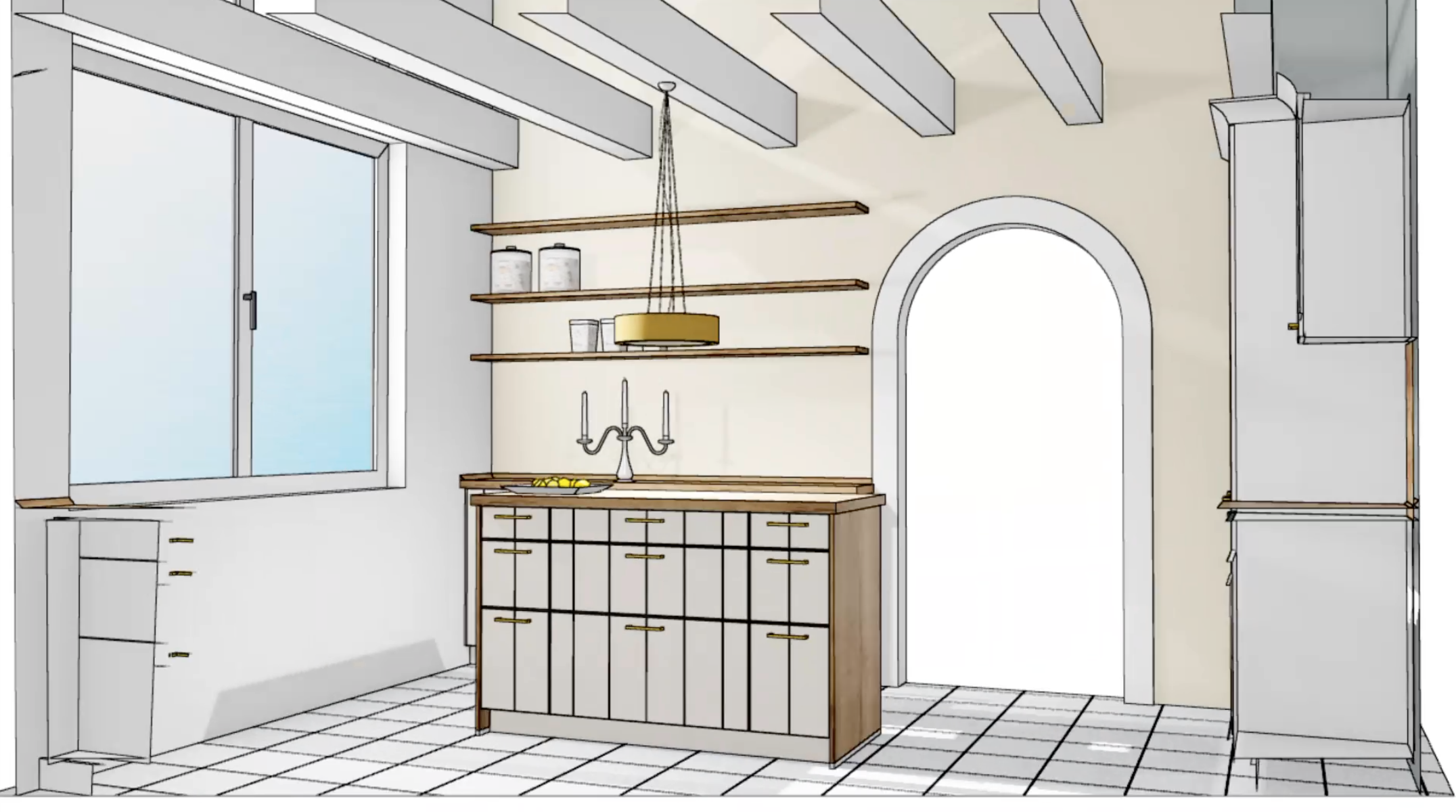 Küchen Makeover - Planung 4