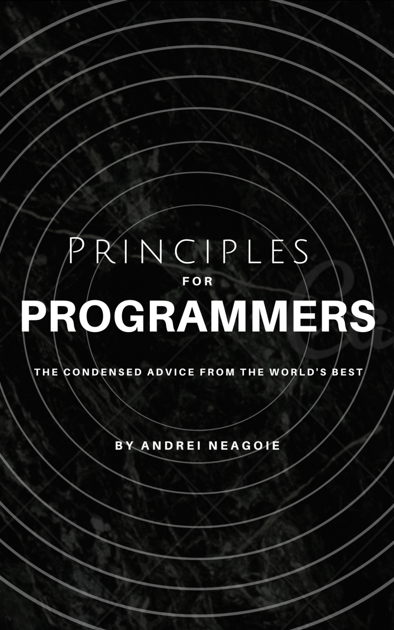 Principles For Programmers