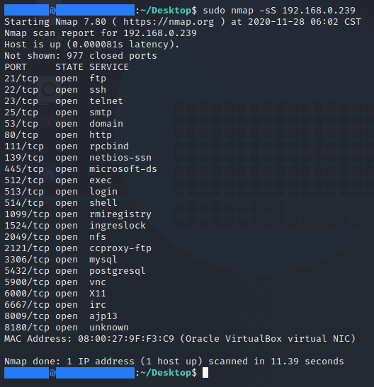 [ CHEAT-SHEET ] - Synscan nmap command