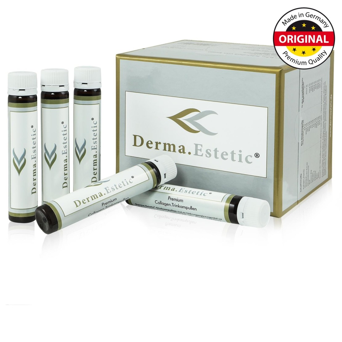 Derma.Estetic -Premium Collagen Trinkampullen 3 certificated