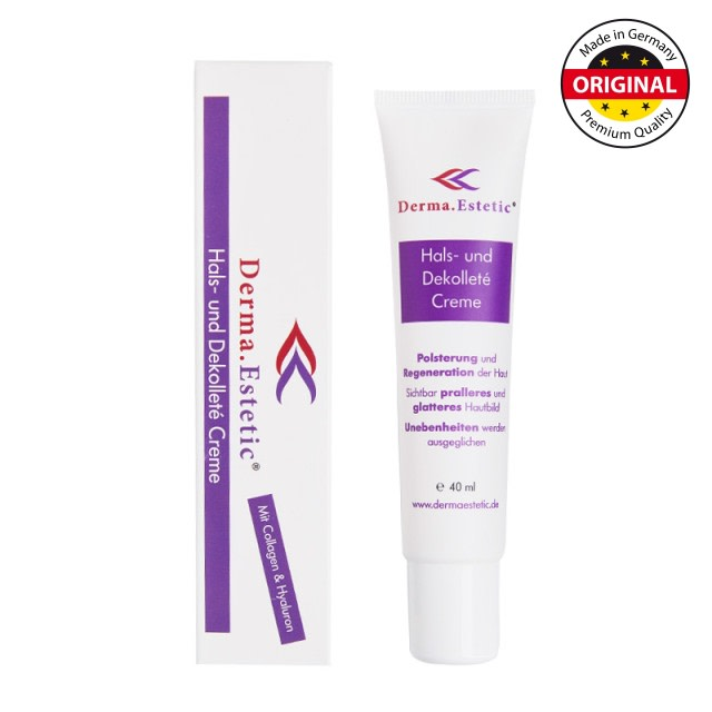Derma.Estetic - Hals- und Dekolleté Creme 1 certificated
