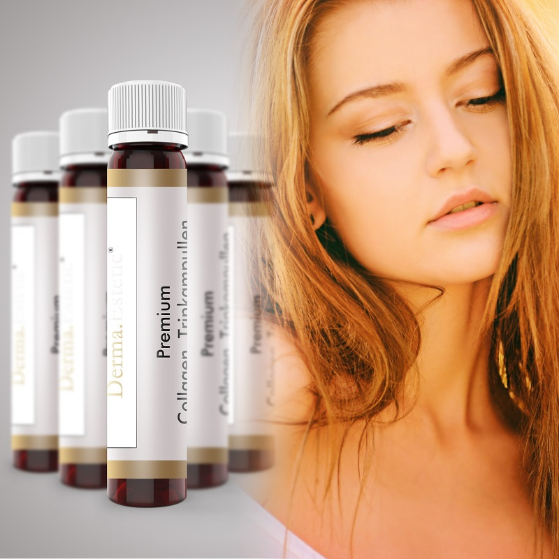 Premium Collagen Trinkampulle