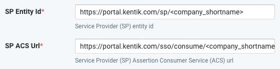 Configuring Kentik for SSO   Kentik