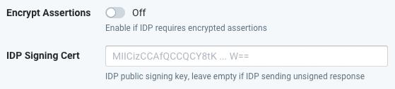 SSO-Encrypt Cert