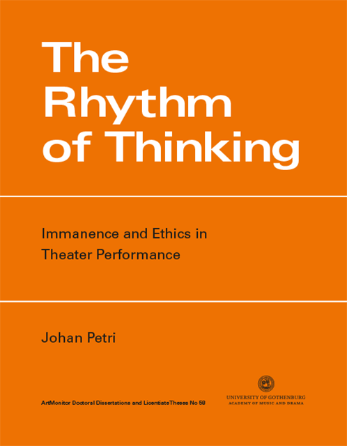 Cover of The Rhythm of Thinking