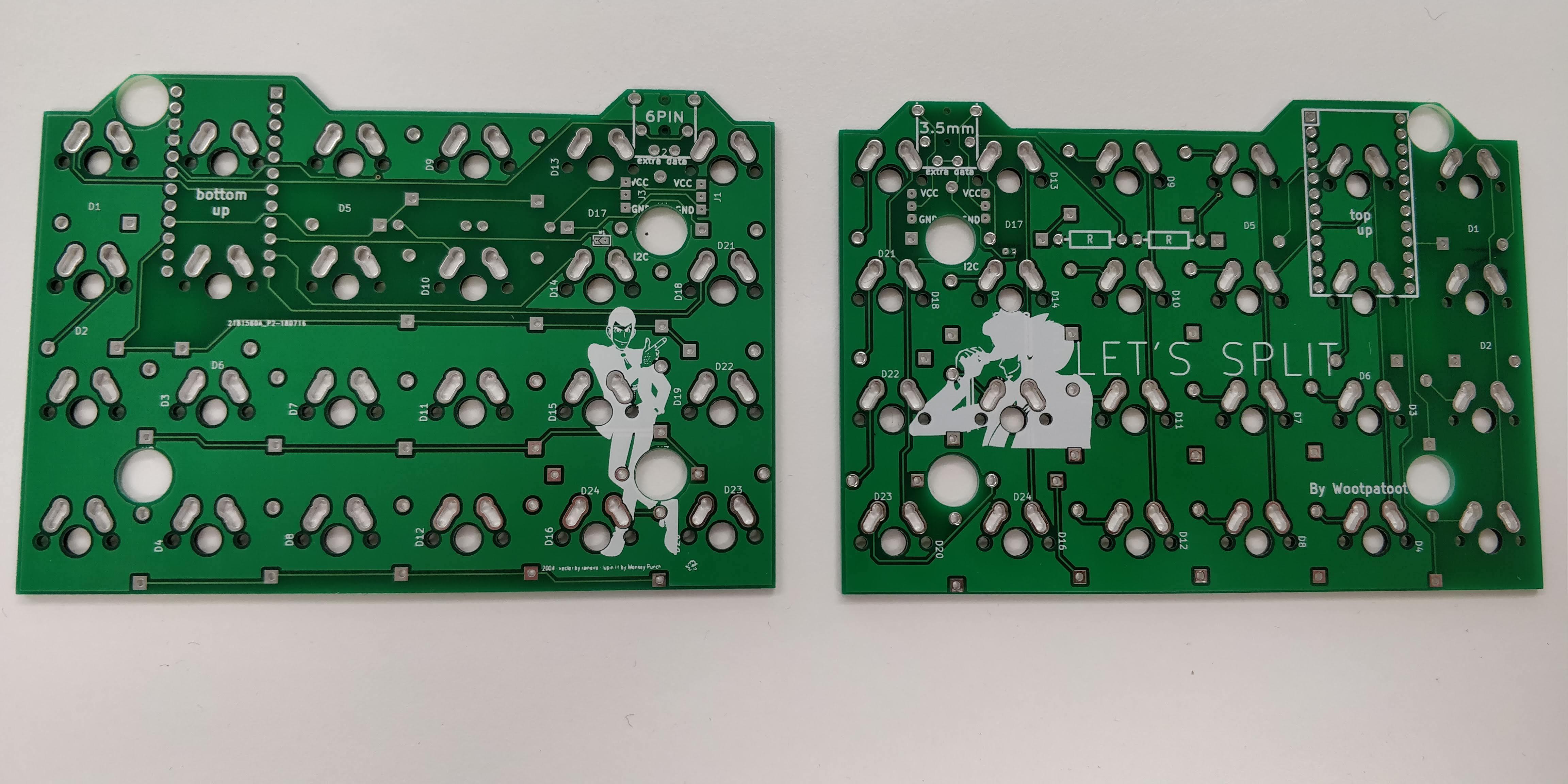 Let's Split - PCBs