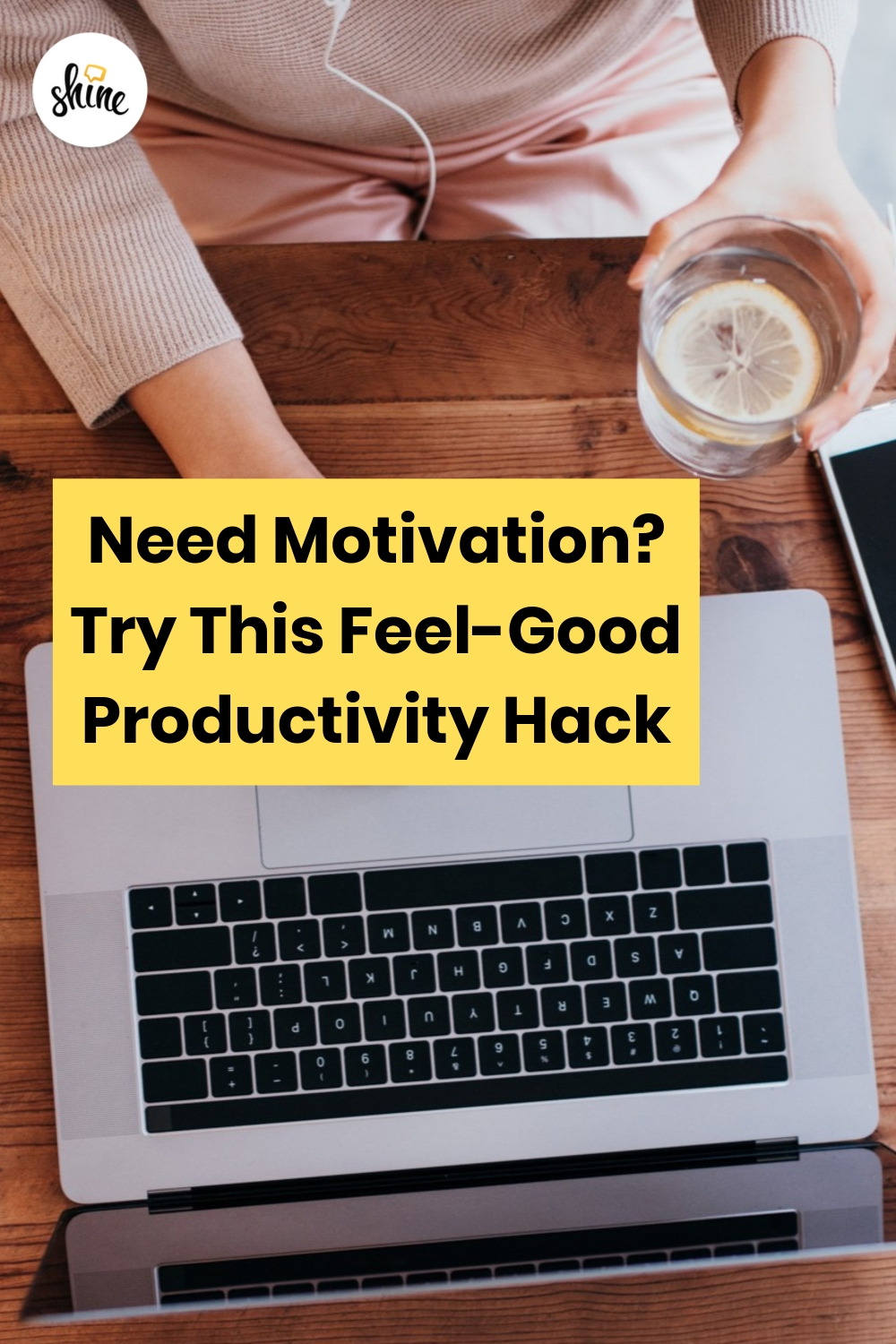 Try this Feel-Good Productivity Hack