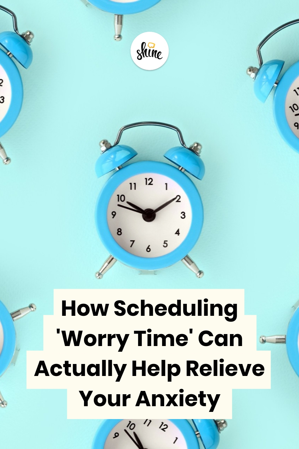 Schedule Worry Time Can Help Relieve Anxiety