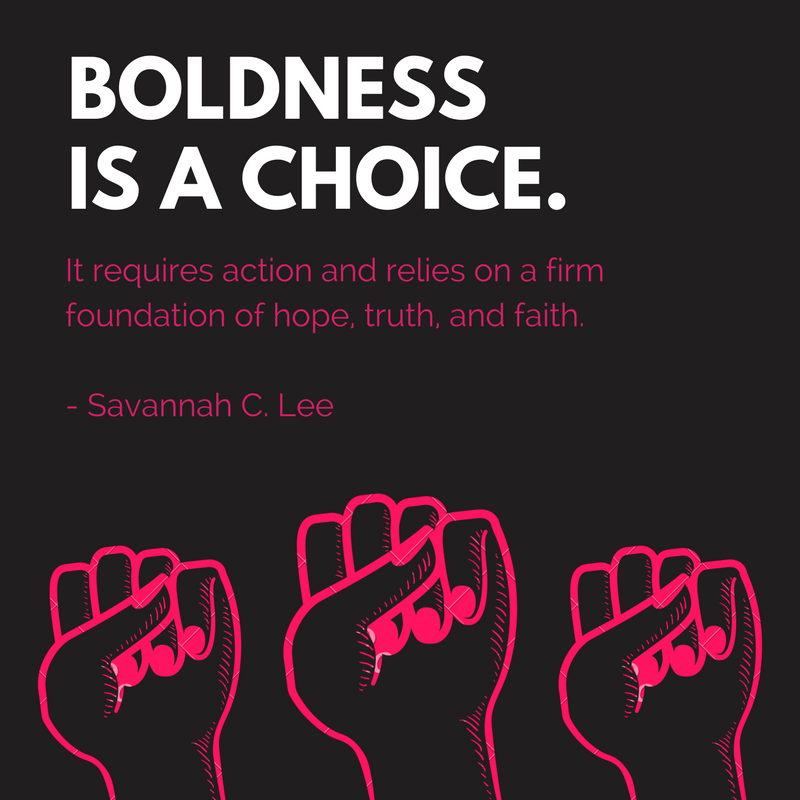 Be Bold: Savannah_updated