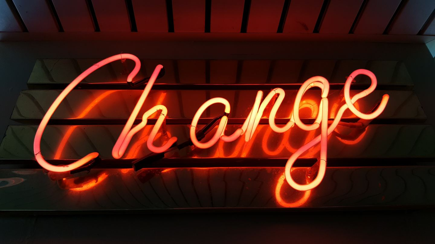 change neon light sign