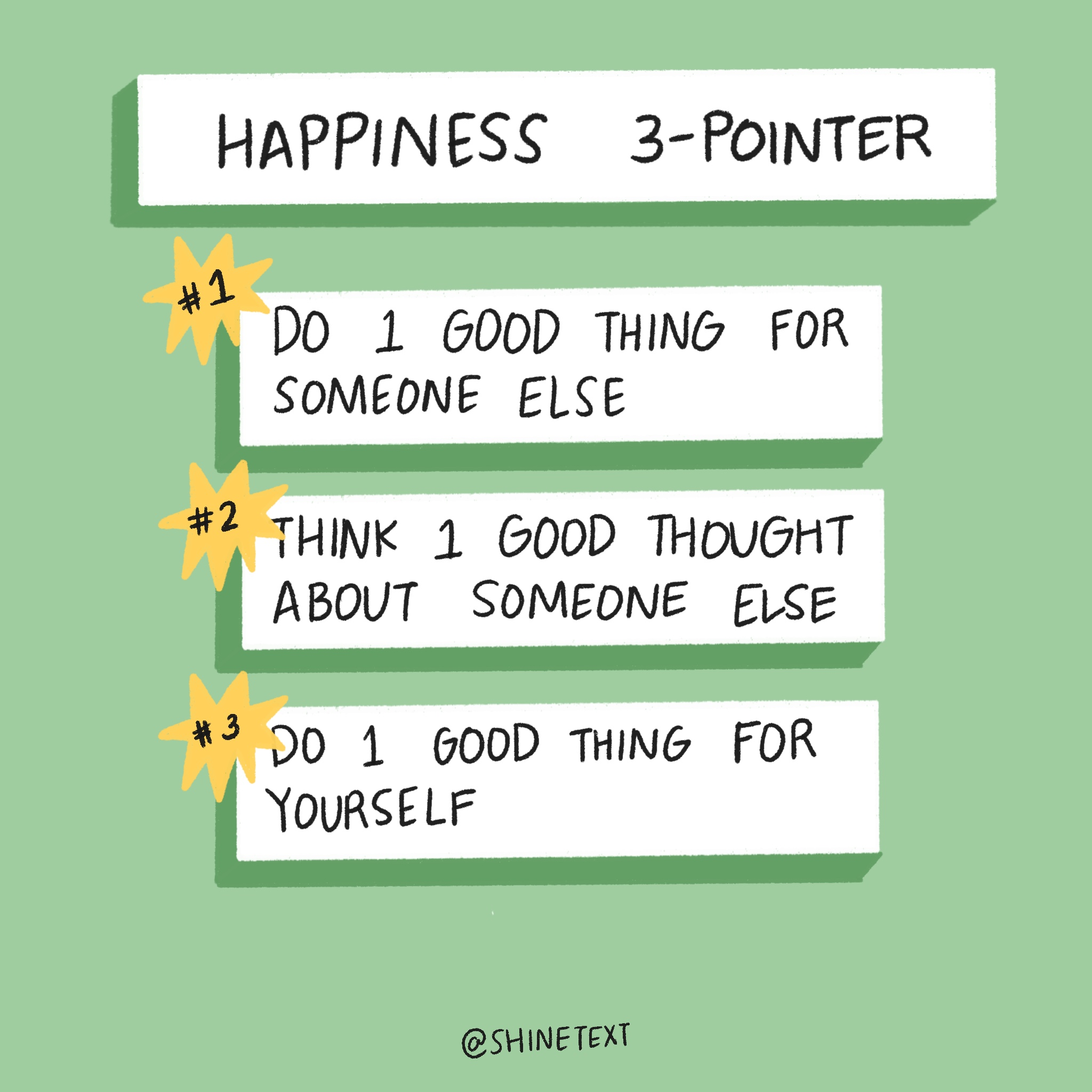 Happiness 3 Pointer