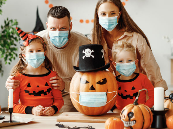 Don't let COVID-19 haunt you this Halloween— follow these guidelines from the Centers for Disease Control & Prevention for a safe and fun celebration!