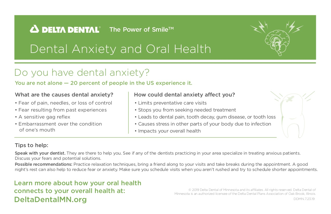 Anxiety and Oral Health