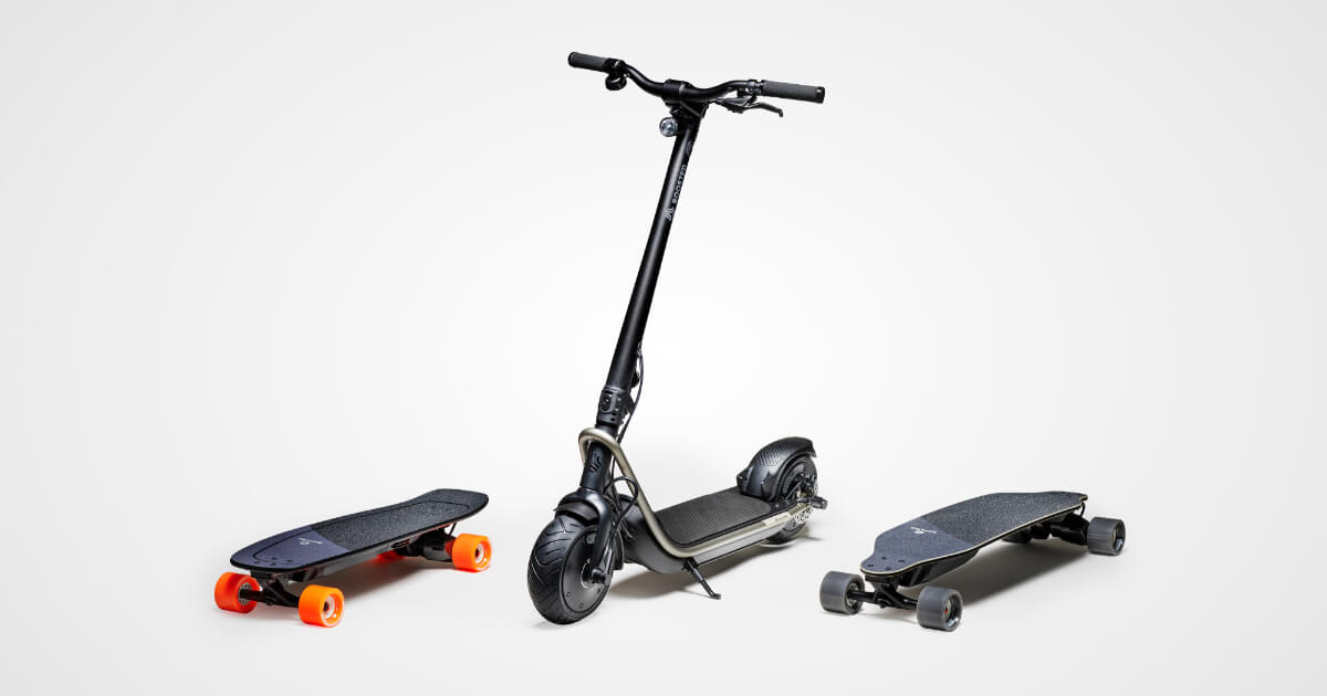 Schema Elettrico Hoverboard : Boosted boards: the best electric skateboards longboards & scooters