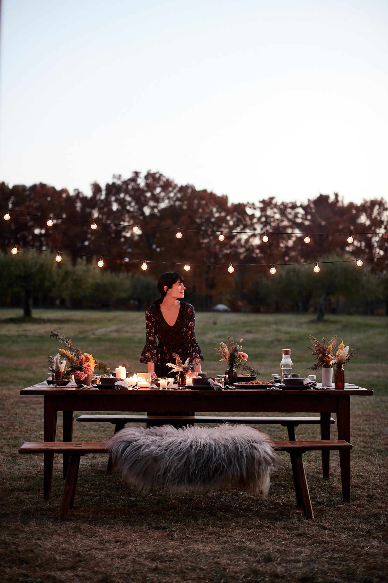Athena Calderone on Food_Athena Outside Table Setting 0326
