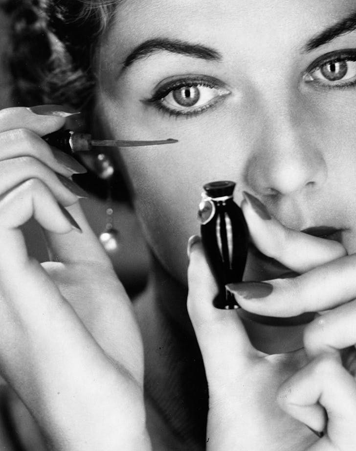 1950s Eyeliner CARLTON GETTY IMAGES