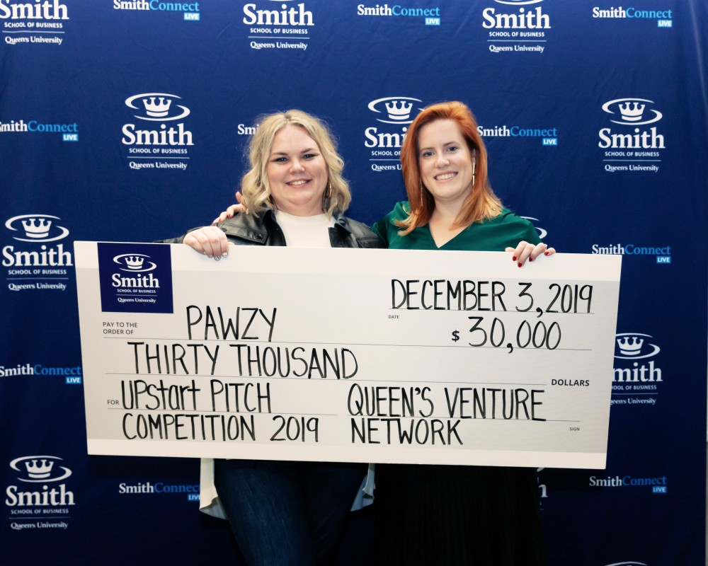 Pawzy Queen's Upstart Challenge winner