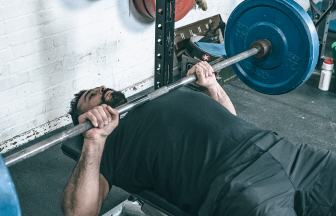 Bench press header update