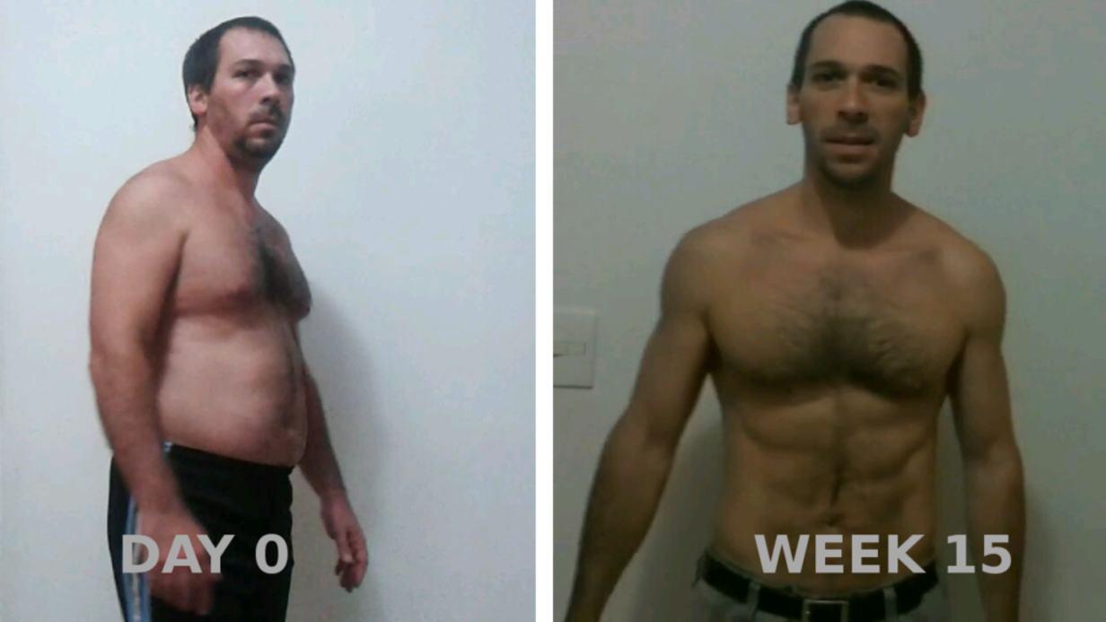 Freeletics 15 weeks transformation
