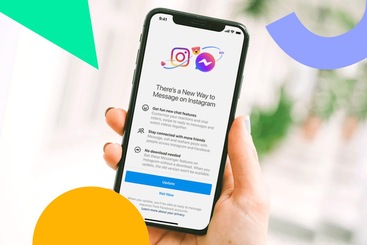 Facebook Merges Messenger With Instagram DMs   Later Blog