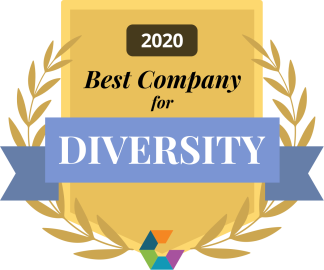 2020 Comparably Best Company for Diversity