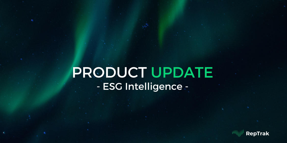 Introducing ESG Intelligence: A Deeper Dive Into Your ESG Perception Than You Ever Imagined Possible