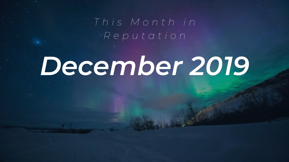 This Month in Reputation: Leadership Changes and a Renewed Focus on Purpose