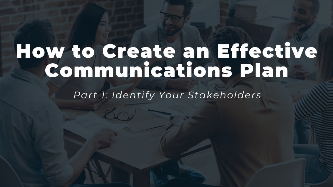 How to Create an Effective Communications Plan 1