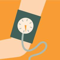 Vi hjälper dig att kontrollera ditt blodtryck.