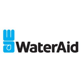 WaterAid förmånsemblem färg