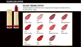Max Factor Hitta rätt makeup för läpparna 5