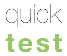 Logo Quicktest