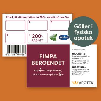 Lojalitetskort på Kronans apotek