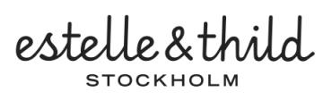 Logo Estelle & Thild
