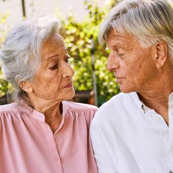 Ett äldre par
