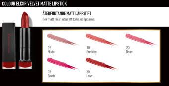 Max Factor Hitta rätt makeup för läpparna 3
