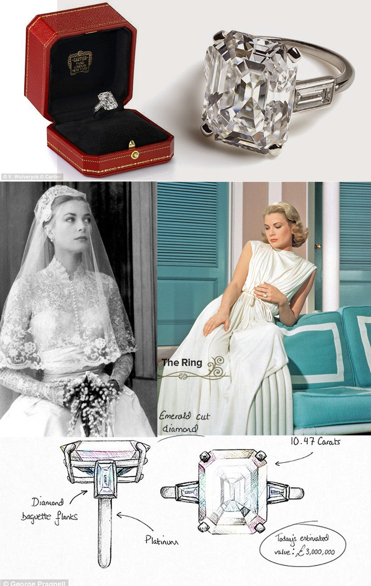Picture - Grace Kelly's engagement ring