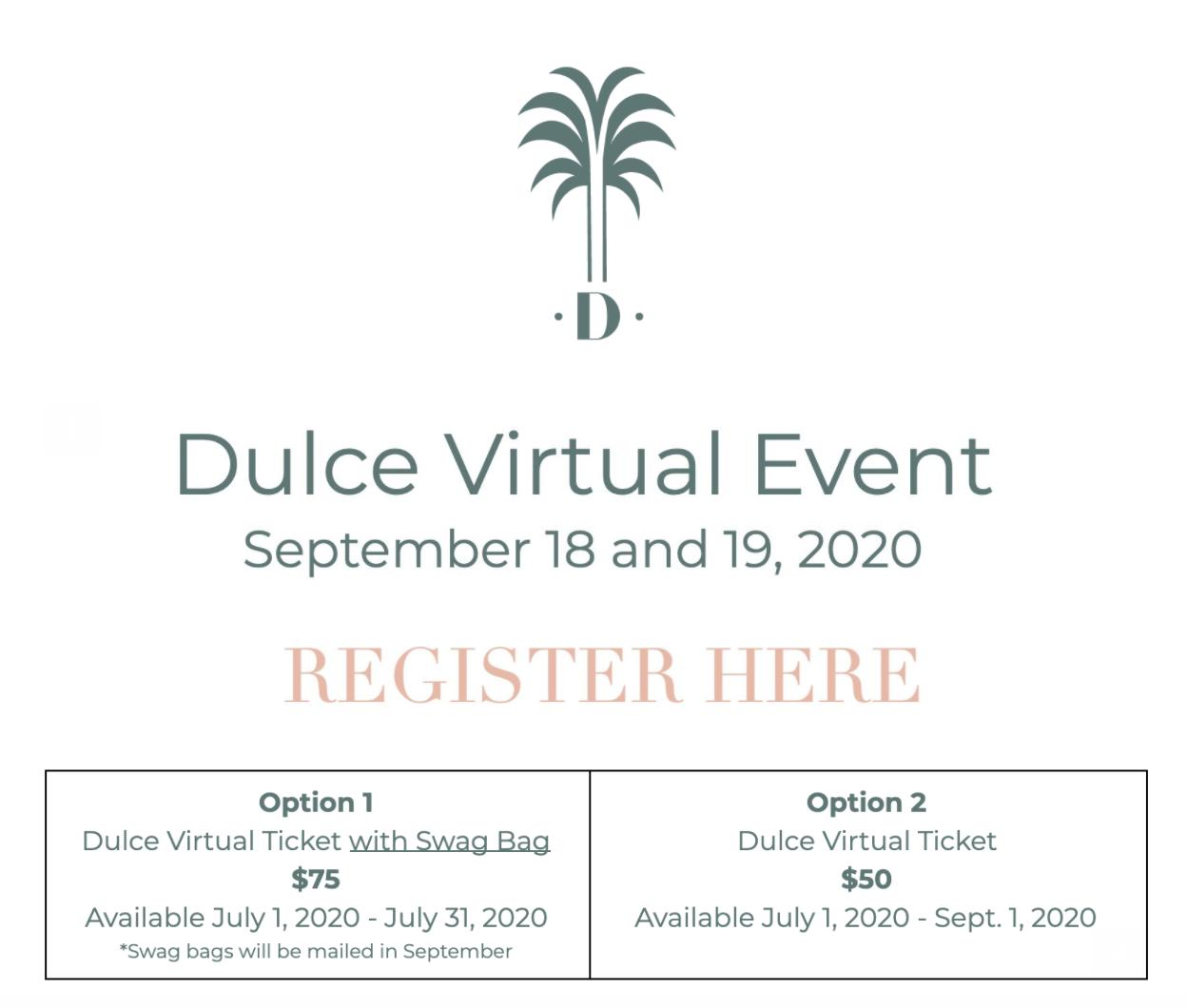 DULCE - VIRTUAL OPTIONS