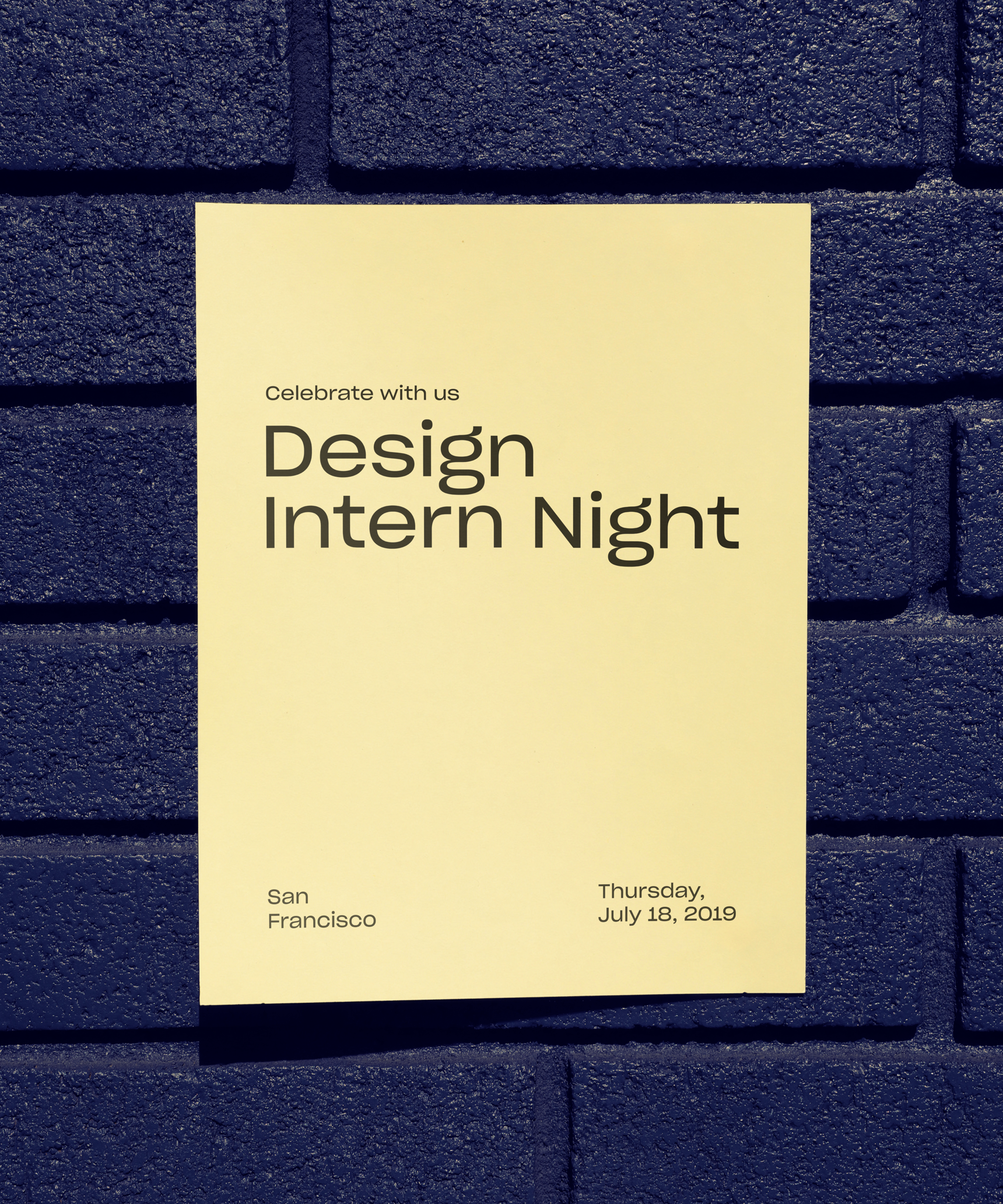 Design Intern Night