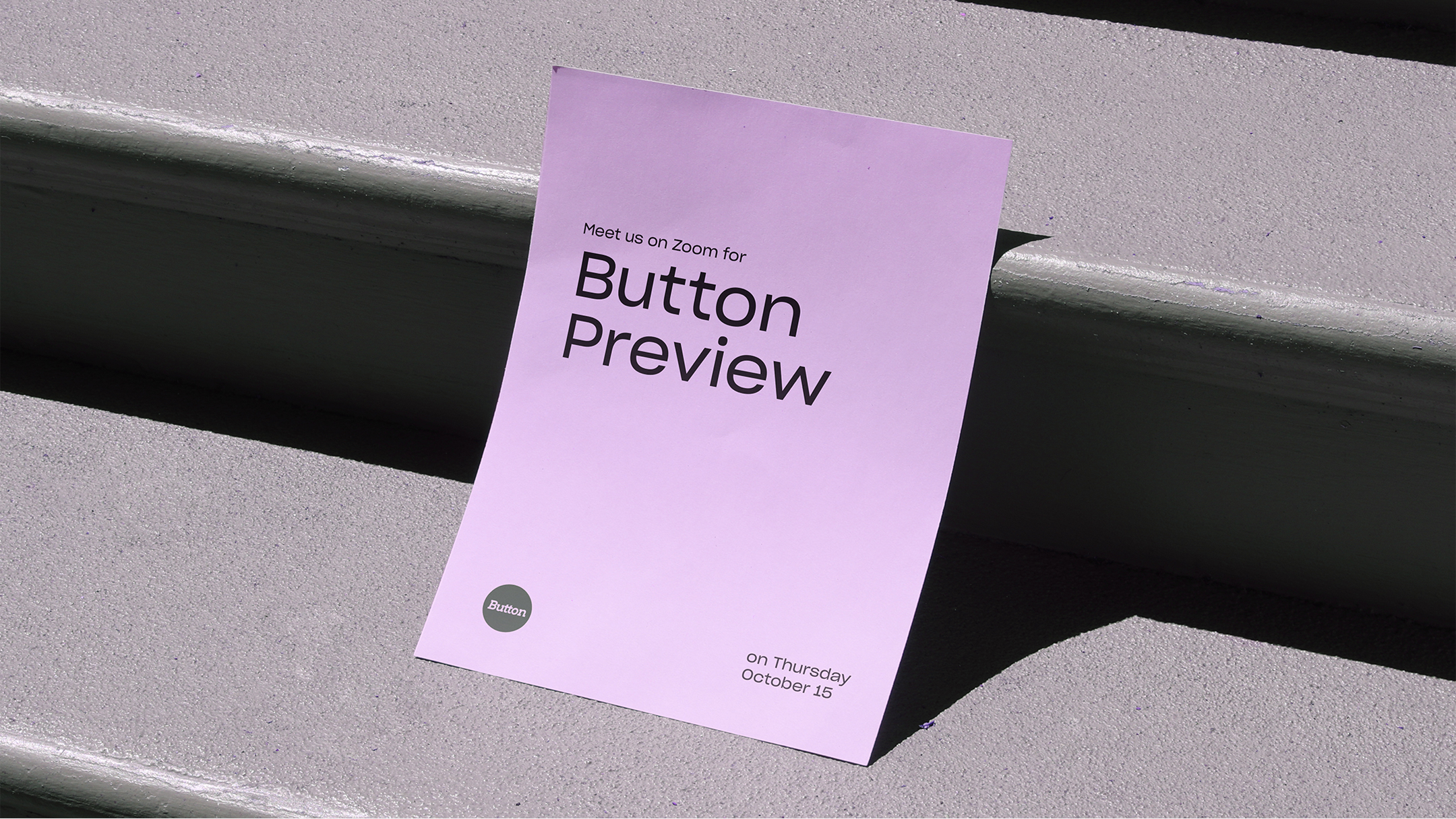 Button Preview Poster