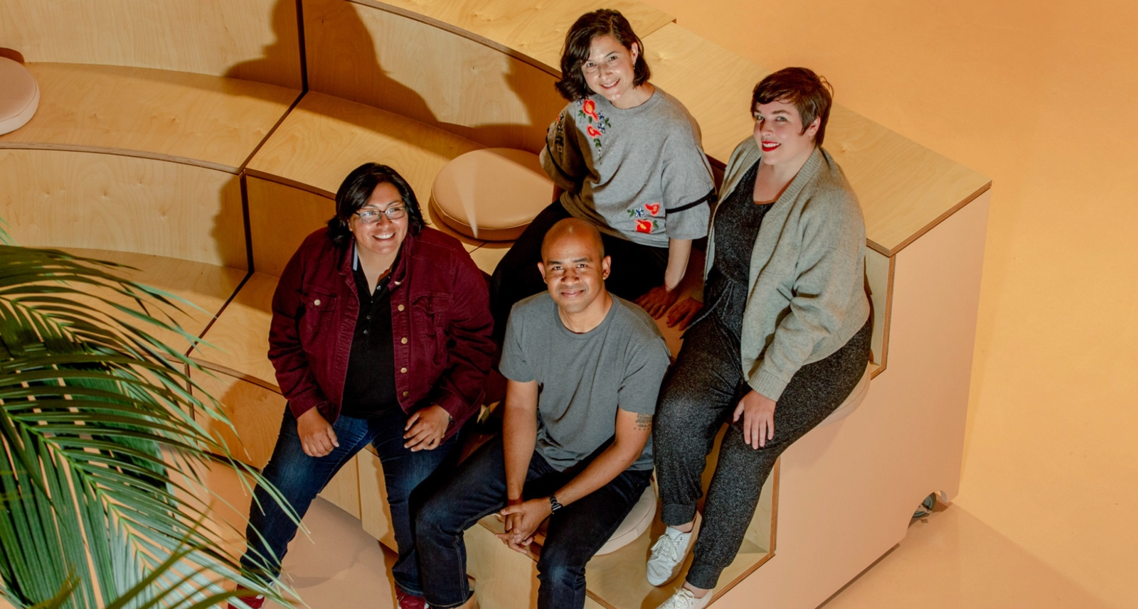 Clockwise from top: Roxy Aliaga, Michelle Morrison, Wes O'Haire, Tere Hernandez