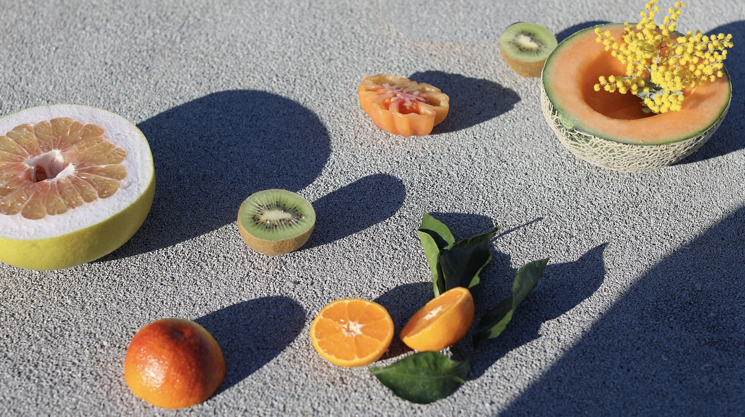 Fruit in the street