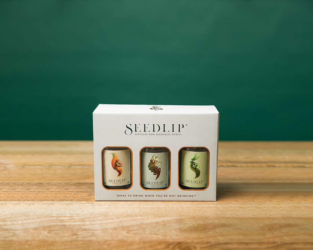 3 x 20cl Seedlip Gift Box Trio