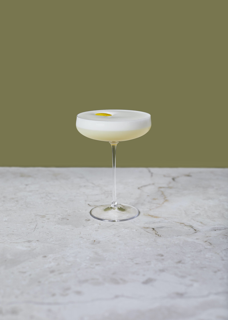 Orchard Sour Cocktail