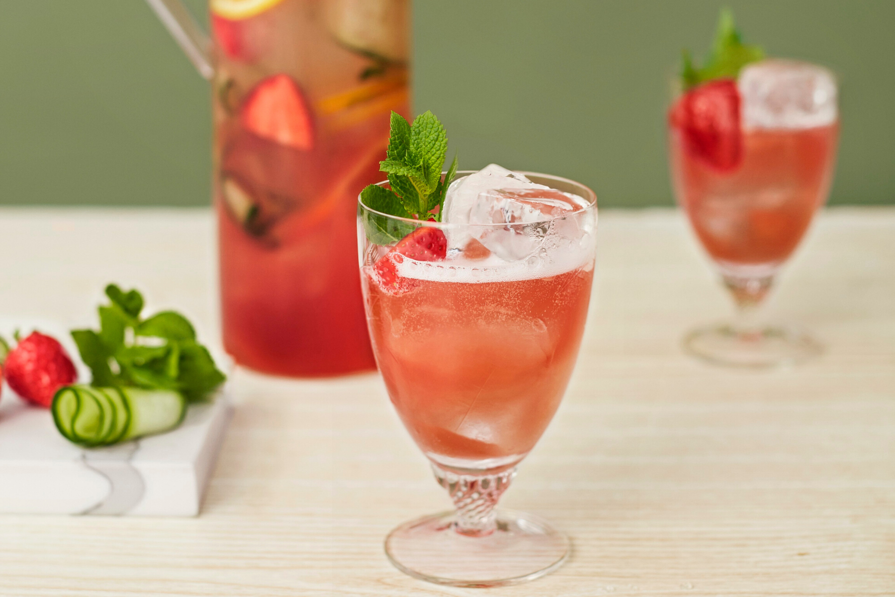 Summer Pitchers To Satisfy A Crowd Non Alcoholic Recipes Seedlip