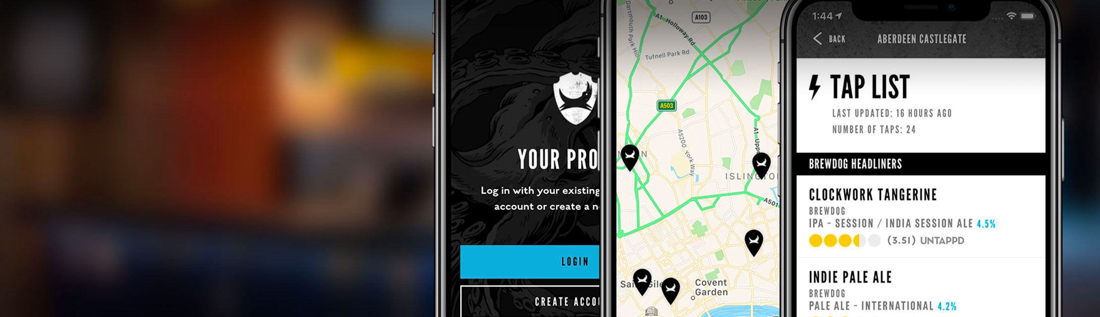 The BrewDog App